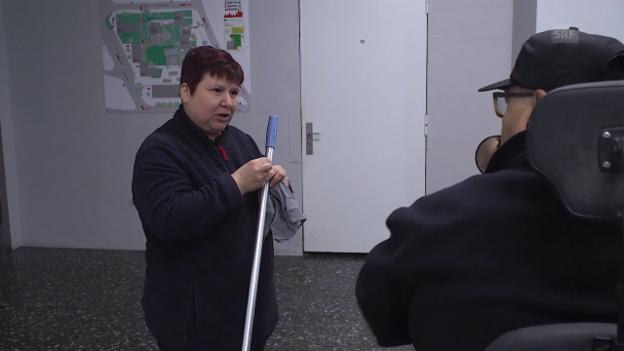 Video «Die gute Seele im Zürcher Lochergut» abspielen