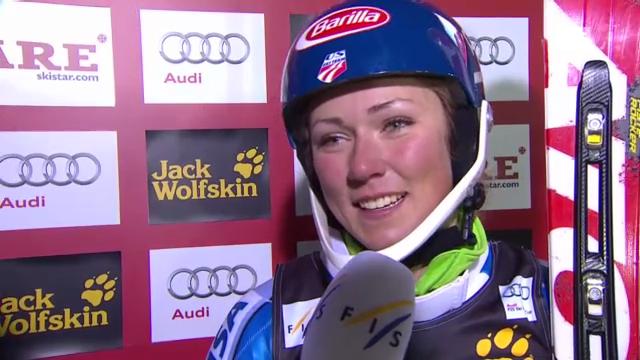 Ski: 2. Lauf und Interview Shiffrin