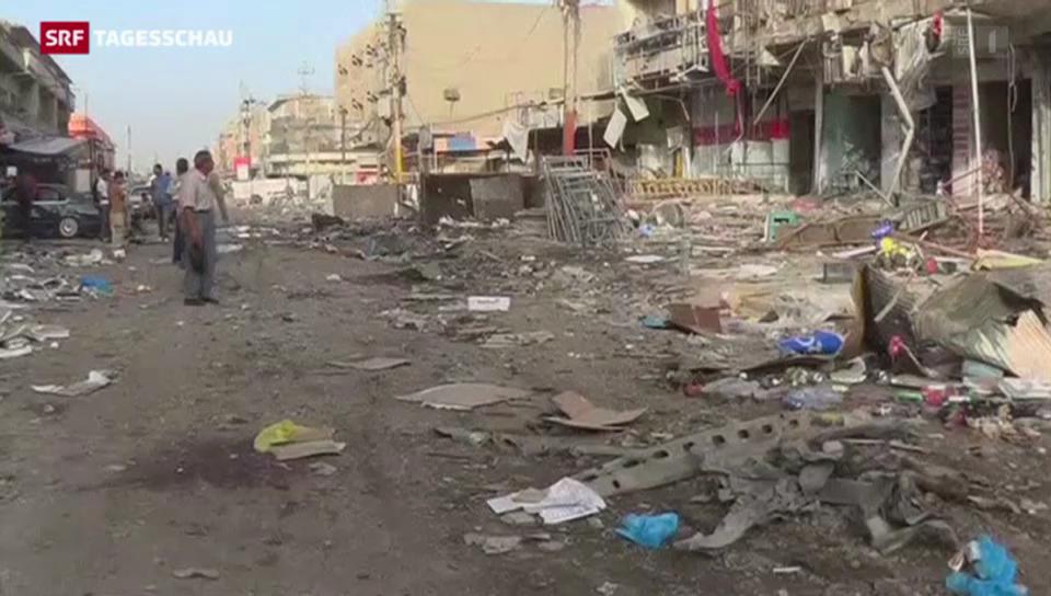 Zahlreiche Anschläge im Irak