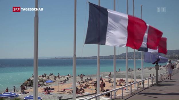 Video «In Nizza beginnt der lange Weg der Aufarbeitung» abspielen