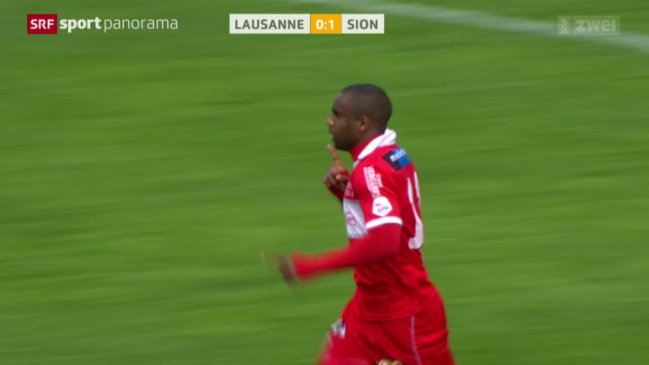 Fussball: Lausanne-Sion