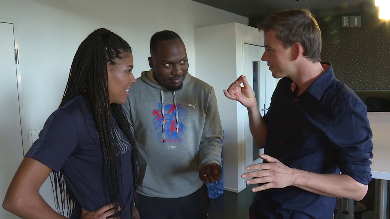 Mujinga Kambundji und Alex Wilson: Verzaubert von Florian Klein