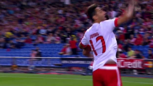 Video «So geht's: Benfica fügte Atletico in dieser CL 3 Gegentore zu» abspielen