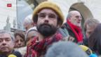 Video «Flüchtlingshilfe: Mildes Urteil für französischen Bauer» abspielen