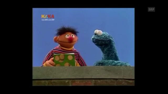 Ernie, Krümelmonster und die Null