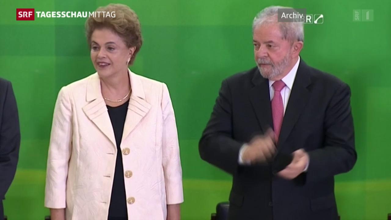 Dilma Rousseff droht der Machtverlust