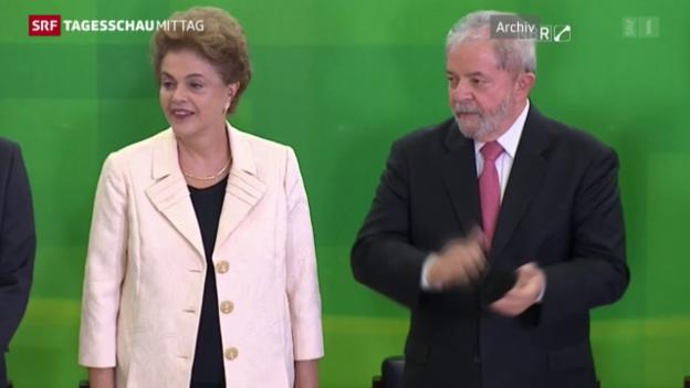 Video «Dilma Rousseff droht der Machtverlust» abspielen