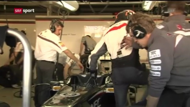 Video «Formel 1: Rollout in Jerez» abspielen