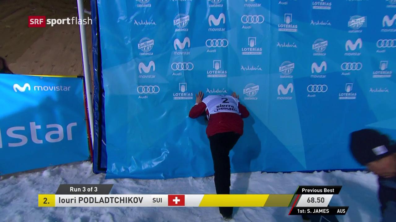 Podladtchikov im Verletzungspech