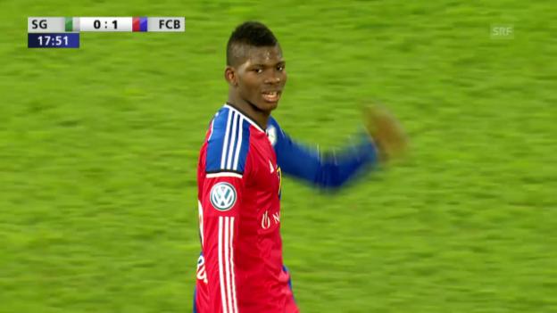 Video «Fussball: Embolo sieht gelb und ist im Final gesperrt» abspielen
