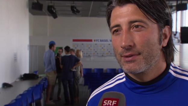 Video «FCB-Trainer Murat Yakin zur Auslosung» abspielen