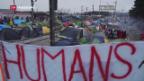Video «Desolate Lage auf der Balkanroute» abspielen