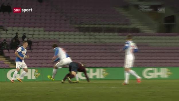 Video «Salatic verletzt sich gegen Genf» abspielen
