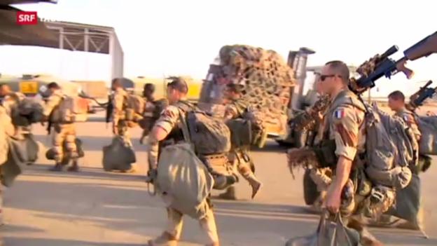 Video «Frankreich bekriegt Islamisten in Mali» abspielen