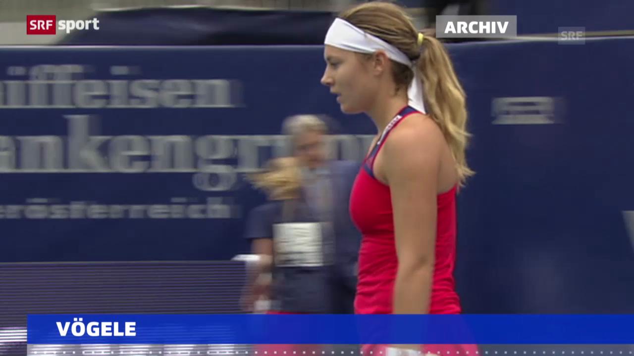 Stefanie Vögele in Luxemburg im Halbfinal