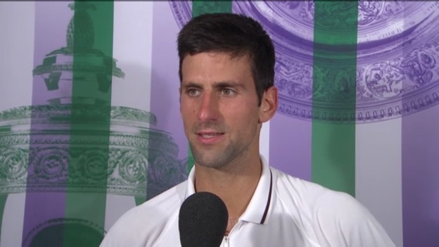 Video «Interview Djokovic engl. («sportlive»)» abspielen