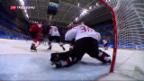 Video «Eishockey: Schweiz gegen Kanada chancenlos» abspielen