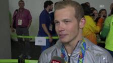 Video «Fabian Hambüchen: «Die Erfüllung eines Traums»» abspielen