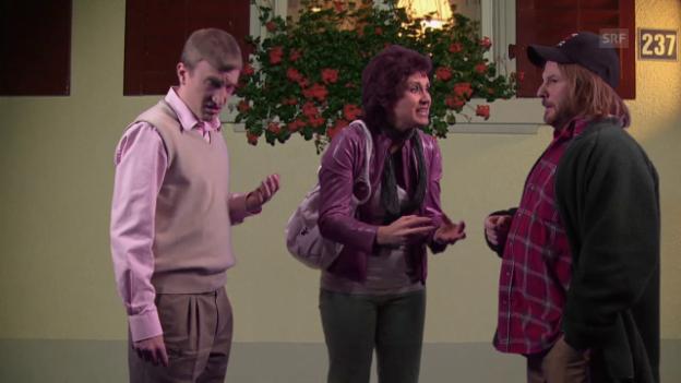 Video ««Scharfer Ecken - Reloaded» - Folge 7 - Darf man gedeckte Stiche einsehen?» abspielen