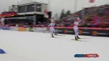 Video «Langlauf: WM Falun, 4x10 km» abspielen