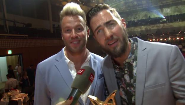 Video «Divertimento freuen sich über ihren Preis» abspielen