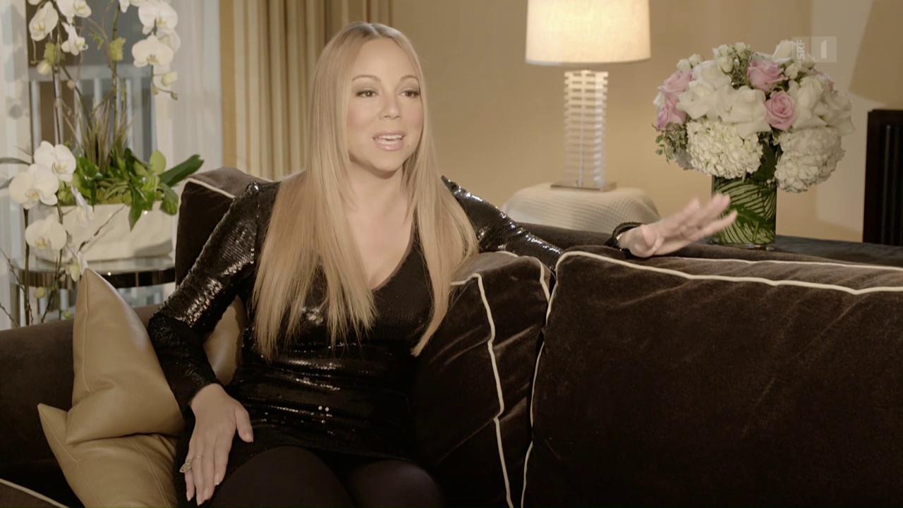 Bei der Pop-Queen: Mariah Carey im Interview