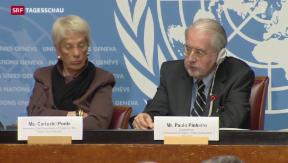 Video «WHO-Bericht zu Syrien fordert dringendes Handeln» abspielen