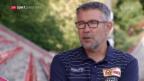 Video «Trainer Urs Fischer ist bei Union Berlin angekommen» abspielen