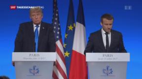 Video «Trump in Frankreich» abspielen