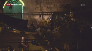 Video «Situation am Tempelberg bleibt angespannt» abspielen