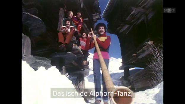 Video «Pepe Lienhard Band «Swiss Lady» – Das Wort zum Video» abspielen
