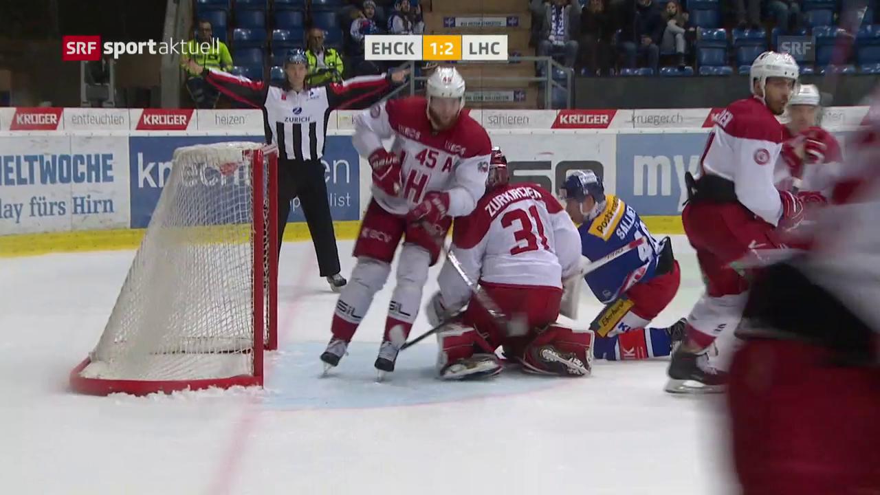 Lausanne gewinnt gegen Kloten in der Overtime