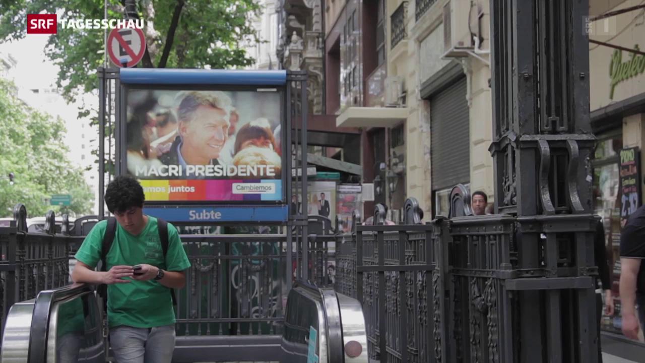 Präsidentschaftswahlen in Argentinien