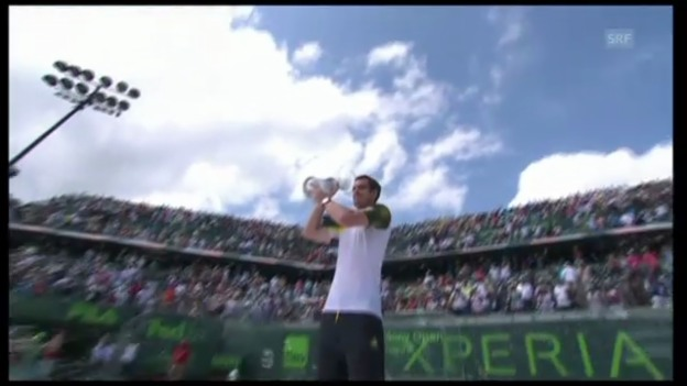 Video «Highlights Murray - Ferrer (unkommentiert)» abspielen