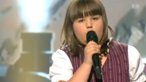 Video «Chantal Häni: Zehnjährige gewinnt das «Alperöösli»» abspielen
