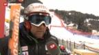 Video «Ski alpin: Silvan Zurbriggen im Tief» abspielen