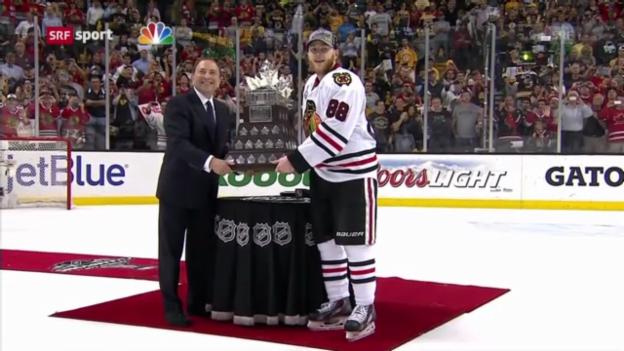 Video «Chicago gewinnt den Stanley Cup («sportaktuell»)» abspielen