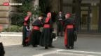 Video «Noch kein Datum für Papst-Wahl» abspielen