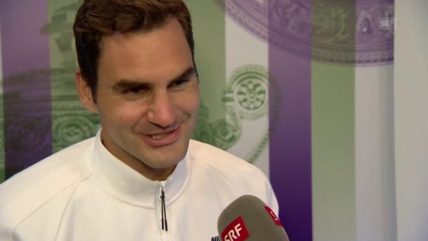 Video «Federer: «Würde gerne wieder beide Zverevs schlagen»» abspielen