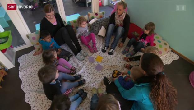 Video «Auch SP plant Vorstoss zur Familienpolitik» abspielen
