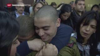 Video «Israel: Soldat verurteilt» abspielen
