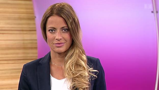Video «Christa Rigozzis Hauptprobe bei «glanz & gloria»» abspielen