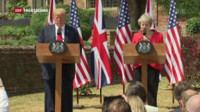 Video «Freihandelsabkommen zwischen USA und Grossbritannien» abspielen