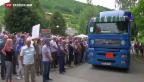 Video «Srebrenica jährt sich zum 20. Mal» abspielen