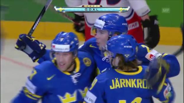 Video «Tore Tschechien - Schweden» abspielen