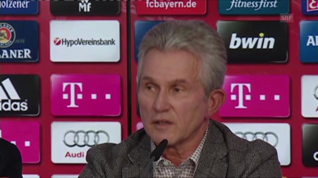 Medienkonferenz von Jupp Heynckes