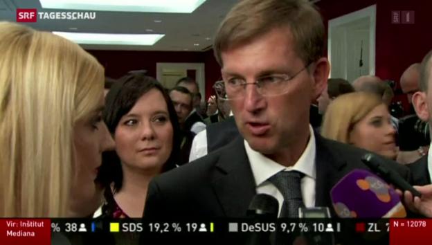 Video «Parlamentswahlen in Slowenien» abspielen