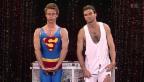 Video «Superman macht's vor, René muss ihm folgen» abspielen