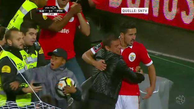 Video «Almeidas Siegtor gegen Portimonense» abspielen