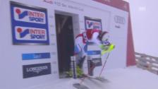 Video «Ski: Der 1. Lauf von Daniel Yule in Levi» abspielen